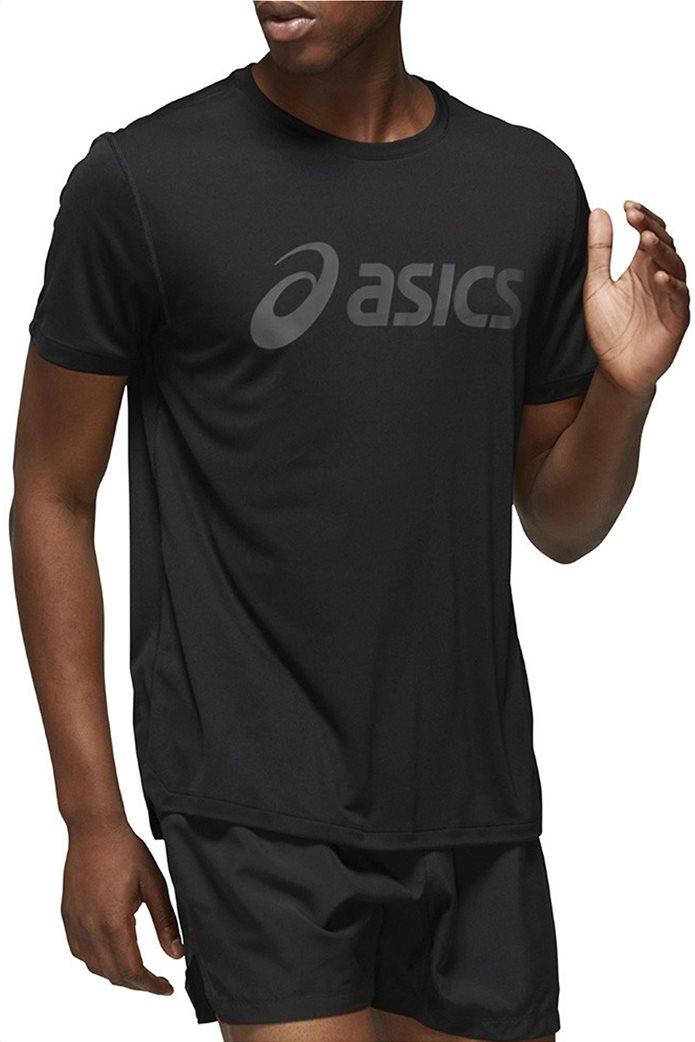 "Asics ανδρικό T-shirt με logo print ""Silver Asics"" 0"