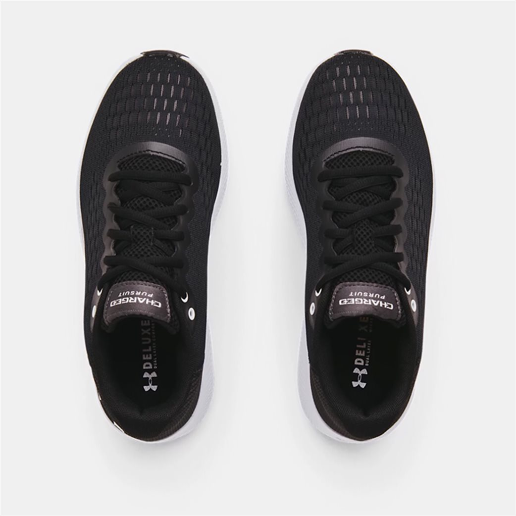 "Under Armour γυναικεία αθλητικά παπούτσια running ""UA Charged Pursuit 2"" Μαύρο 3"