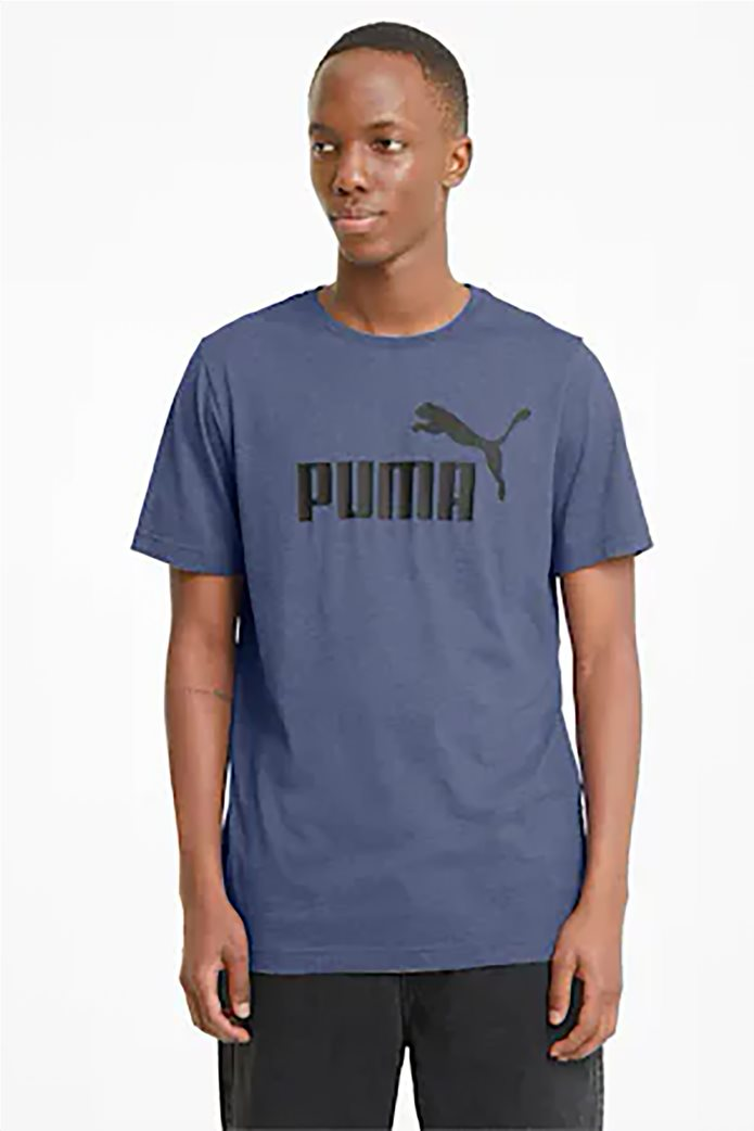 Puma ανδρικό T-Shirt με logo print ''Essentials Heather'' 0