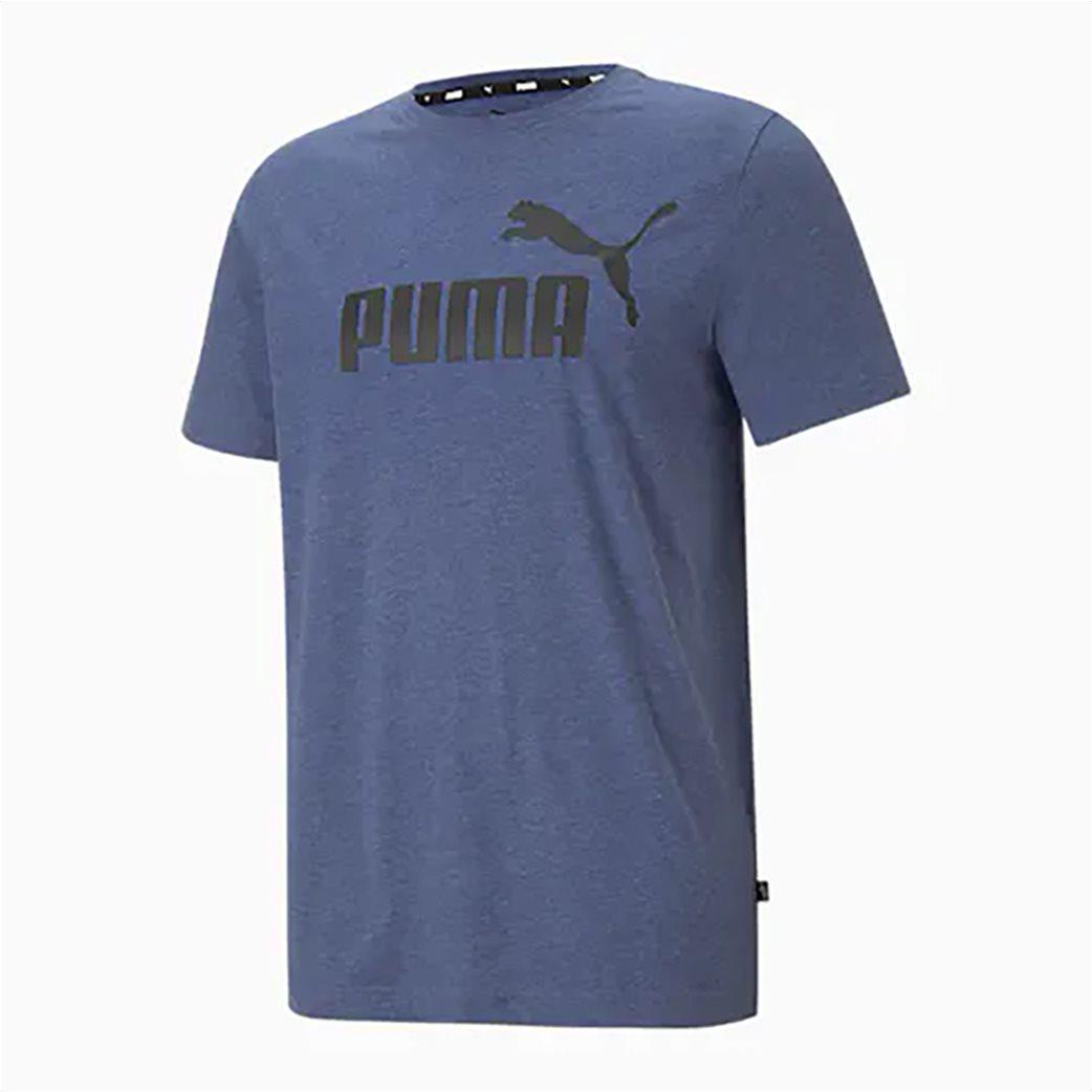Puma ανδρικό T-Shirt με logo print ''Essentials Heather'' 3