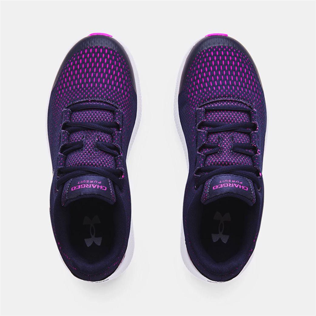 "Under Armour παιδικά αθλητικά παπούτσια ""UA Charged Pursuit 2"" (36-40) Μπλε Σκούρο 3"