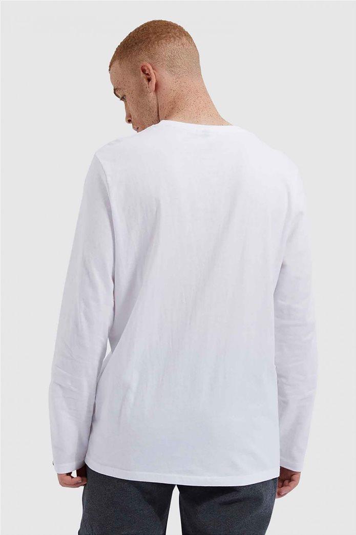 """Ellesse ανδρικό φούτερ με logo print """"Grazie"""" Μαύρο 2"""