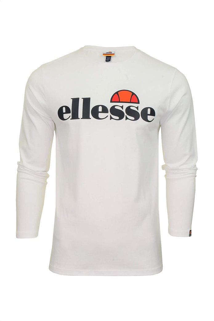 """Ellesse ανδρικό φούτερ με logo print """"Grazie"""" Μαύρο 3"""