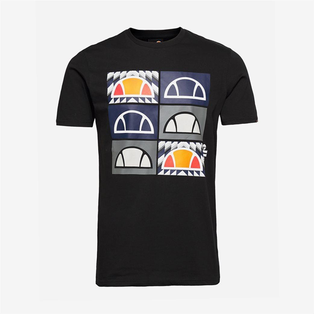 "Ellesse ανδρικό T-shirt με logo print ""Romal"" Μπλε Σκούρο 3"