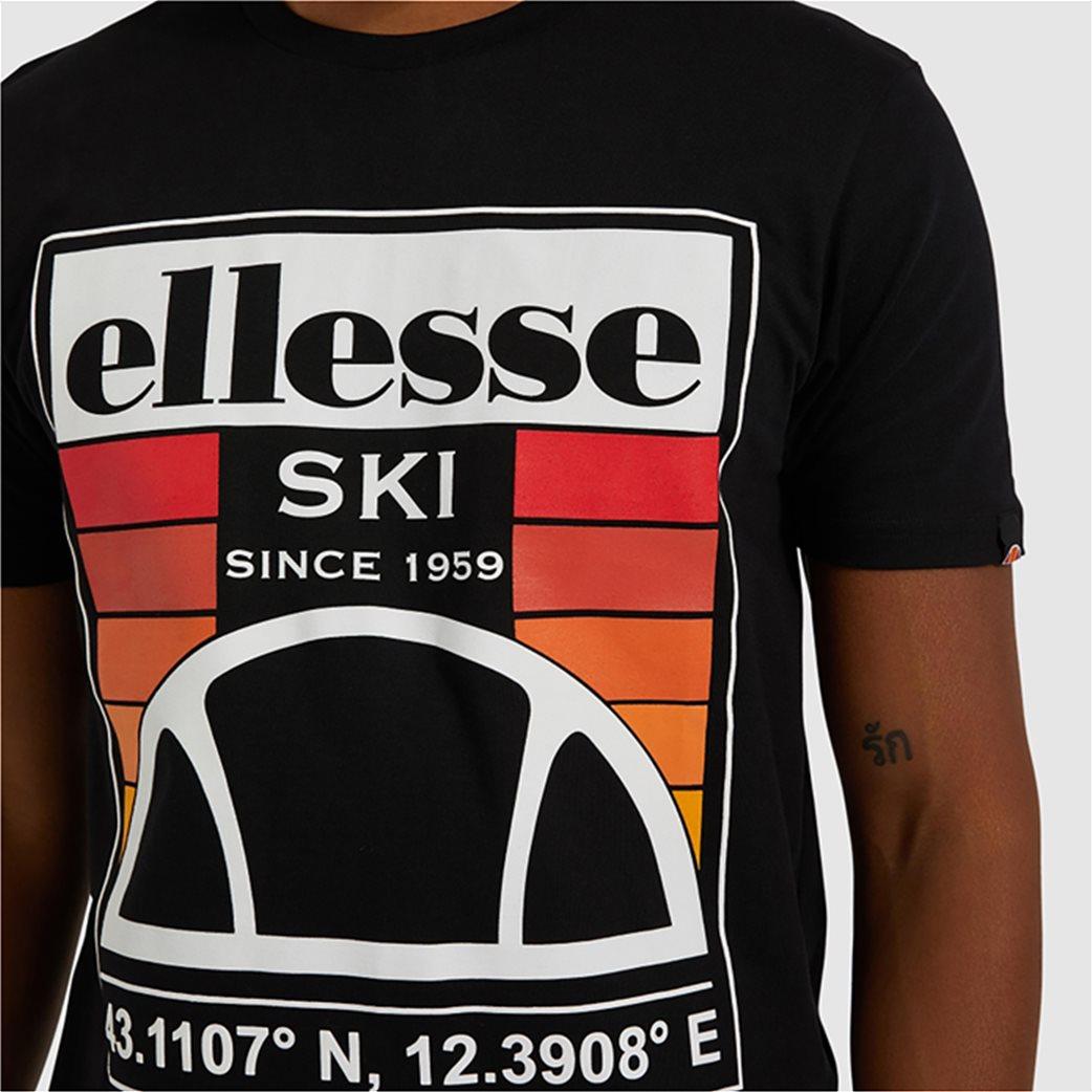 "Ellesse ανδρικό T-shirt με logo print ""Tero"" Μαύρο 3"