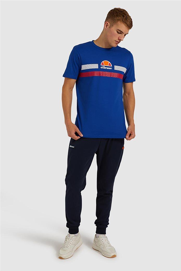 "Ellesse ανδρικό T-shirt με logo print ""Glisenta"" Μπλε Σκούρο 1"