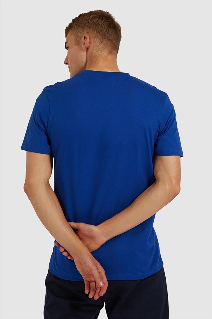 "Ellesse ανδρικό T-shirt με logo print ""Glisenta"" Μπλε Σκούρο 2"
