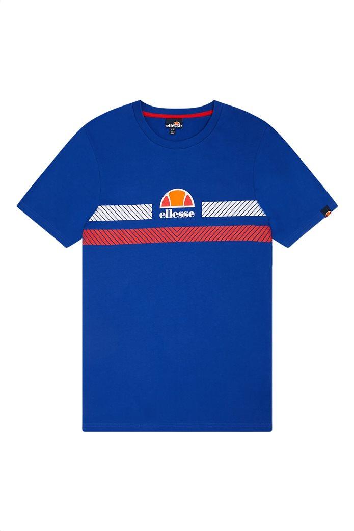 "Ellesse ανδρικό T-shirt με logo print ""Glisenta"" Μπλε Σκούρο 3"