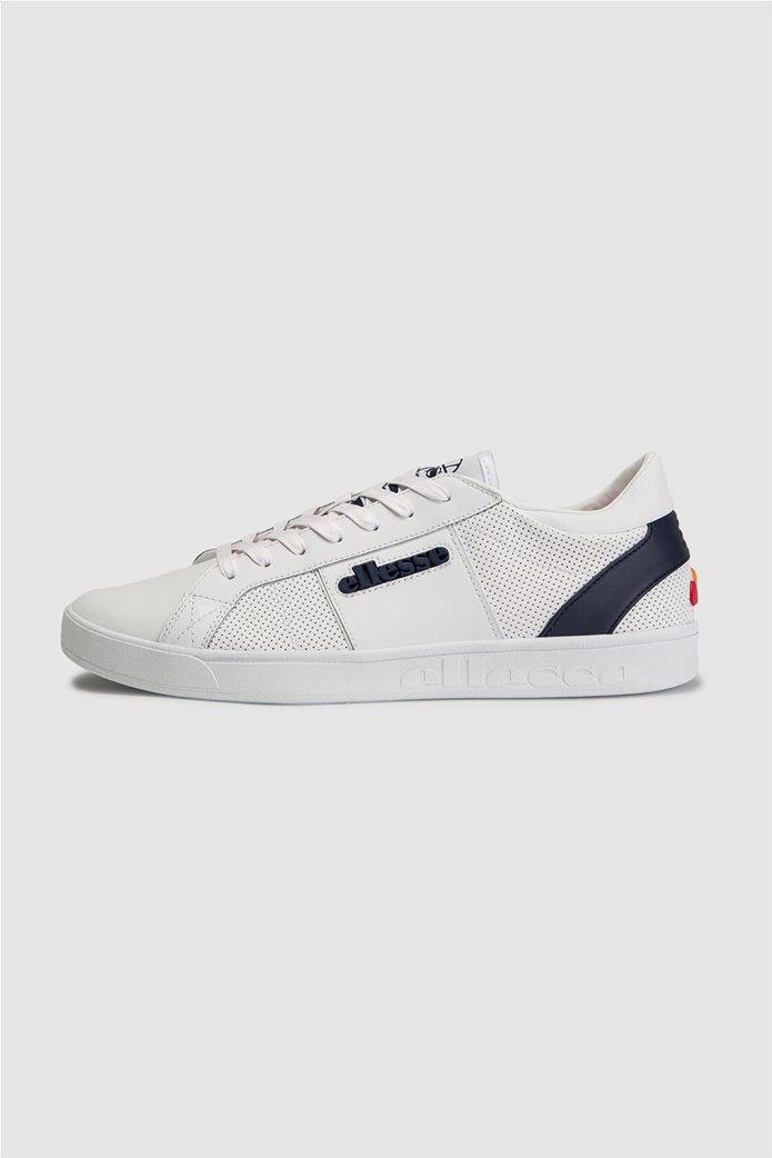 "Ellesse ανδρικά δερμάτινα sneakers ""LS-80"" Λευκό 0"