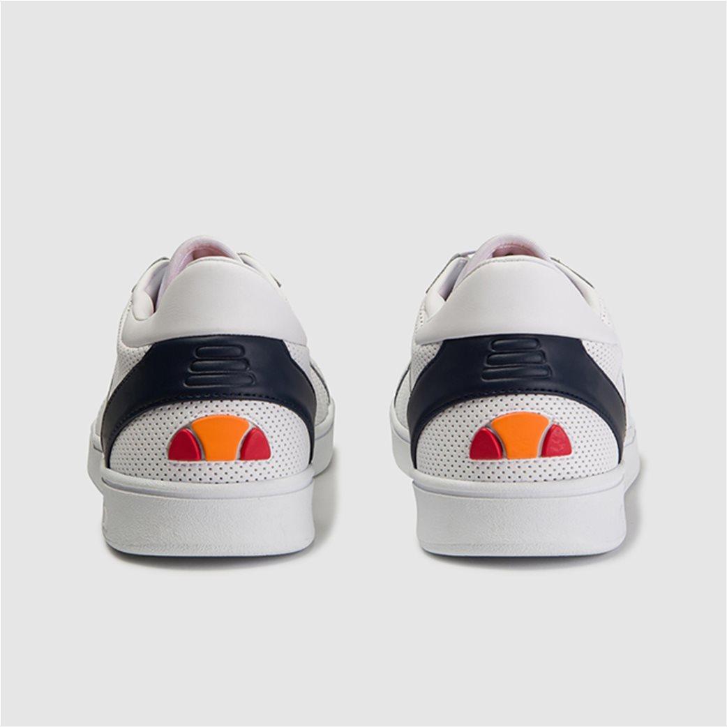 "Ellesse ανδρικά δερμάτινα sneakers ""LS-80"" Λευκό 2"