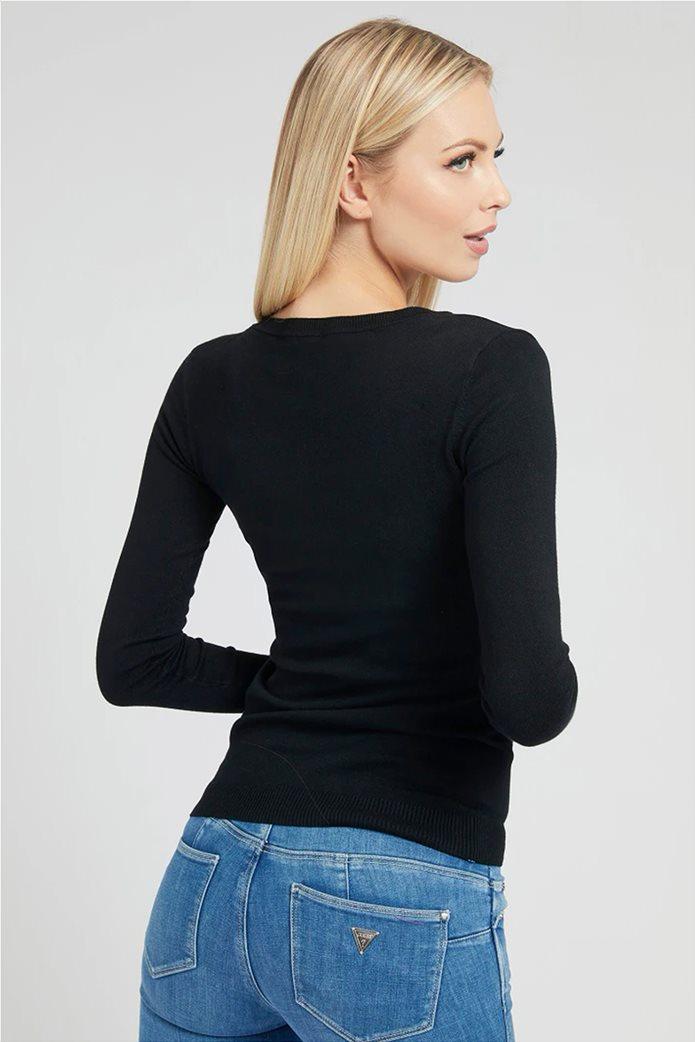"Guess γυναικεία μπλούζα με letter print ""Angeline"" Μαύρο 2"