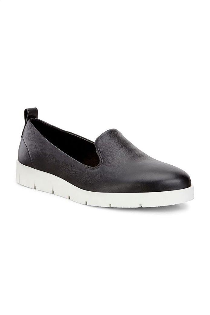 Εcco γυναικεία δερμάτινα loafers Μαύρο 1
