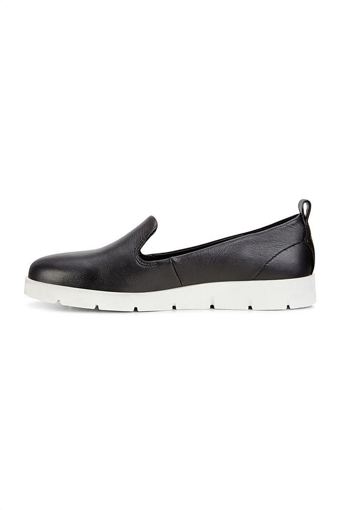 Εcco γυναικεία δερμάτινα loafers Μαύρο 2