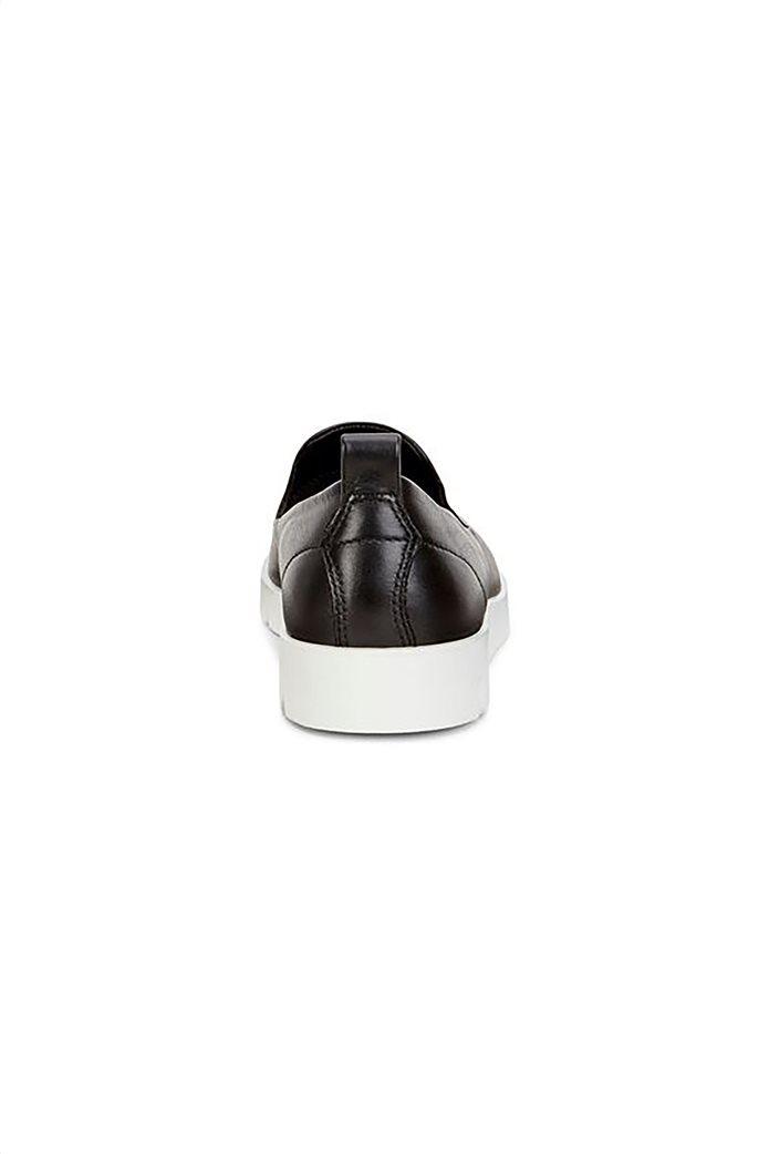 Εcco γυναικεία δερμάτινα loafers Μαύρο 3