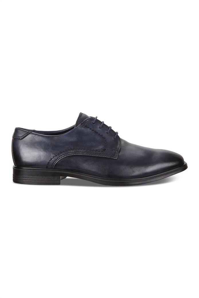 Ecco ανδρικά δερμάτινα δετά παπούτσια 0