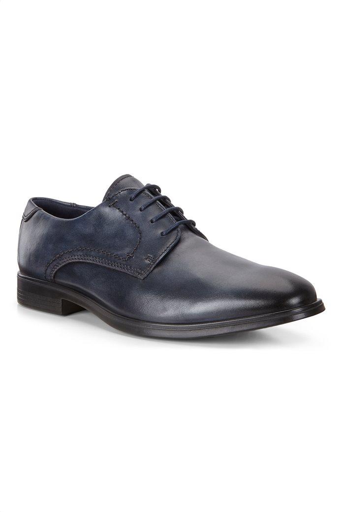 Ecco ανδρικά δερμάτινα δετά παπούτσια 1