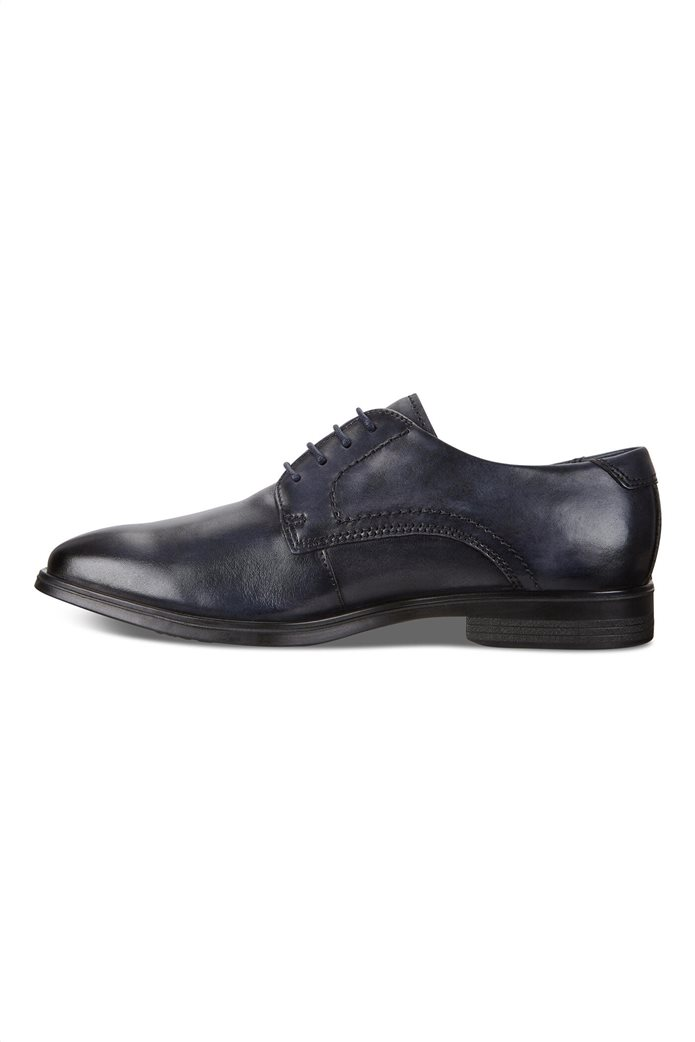 Ecco ανδρικά δερμάτινα δετά παπούτσια 2