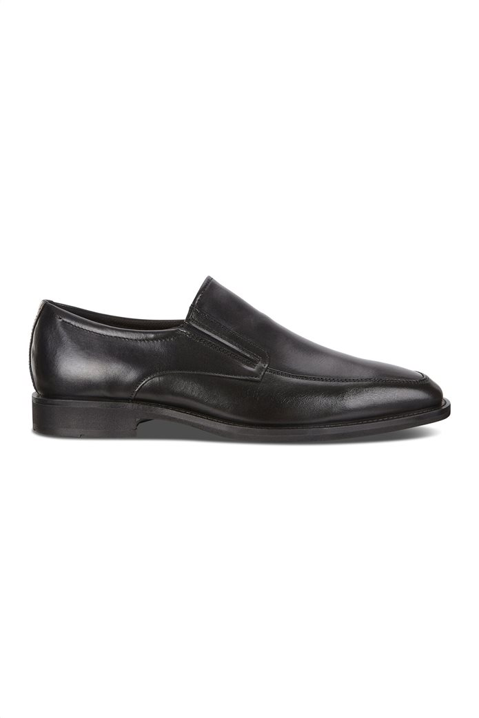 ECCO ανδρικά δερμάτινα loafers Μαύρο 0