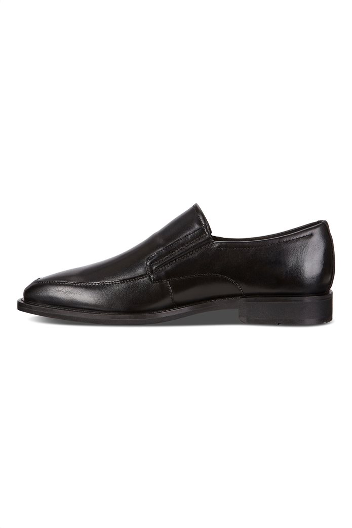 ECCO ανδρικά δερμάτινα loafers Μαύρο 2