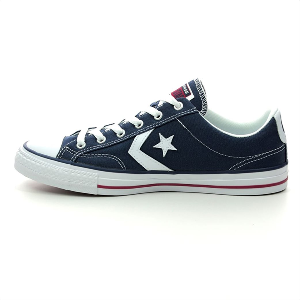 Converse unisex sneakers με logo patch ''Star Player'' 4