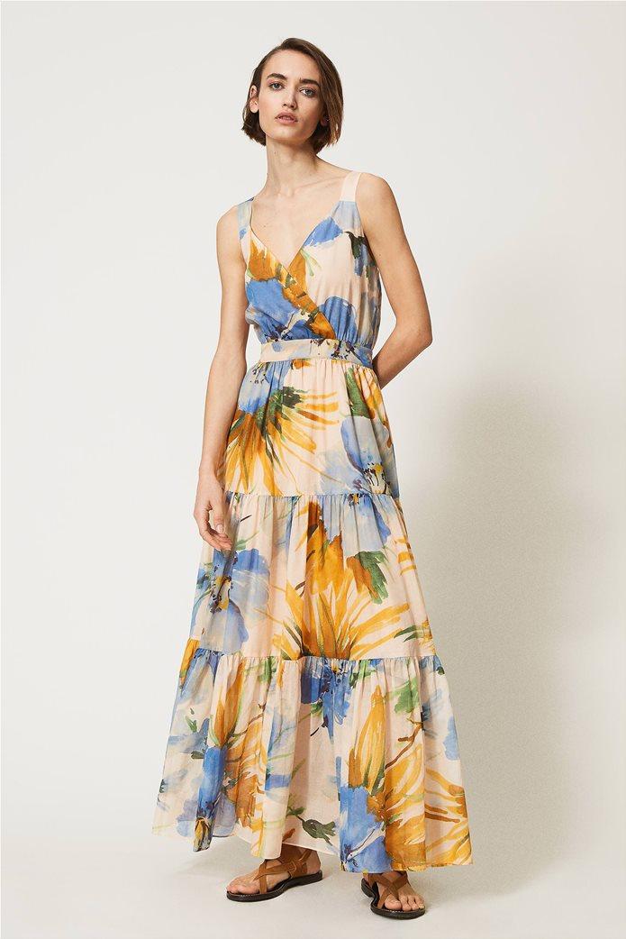 "Twinset γυναικείο maxi φόρεμα ""Hamal"" 0"