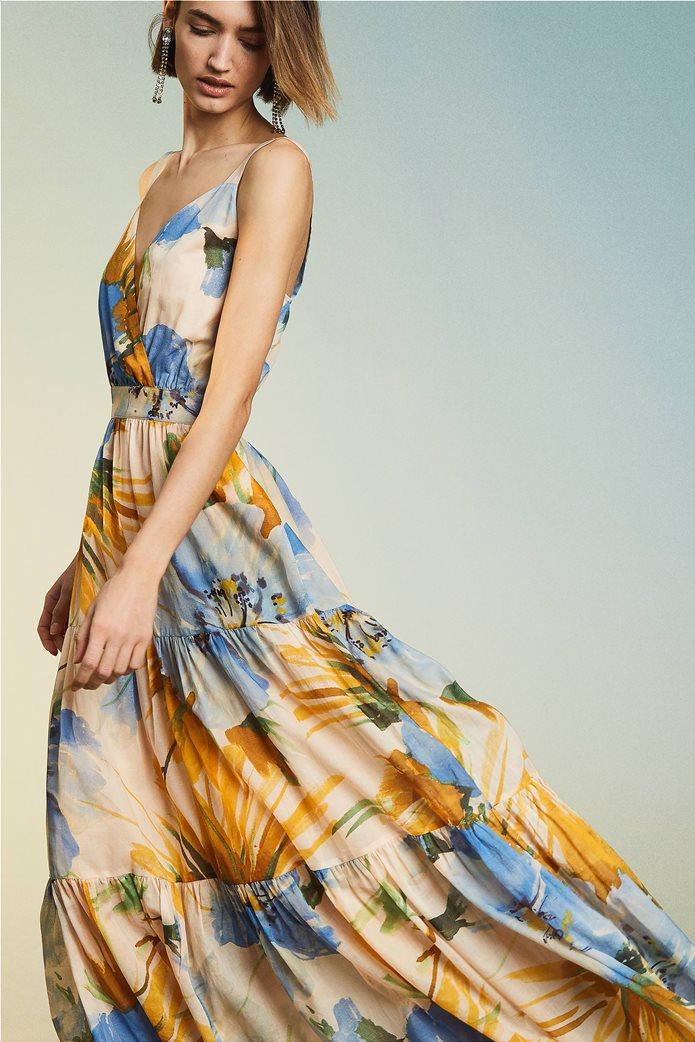 "Twinset γυναικείο maxi φόρεμα ""Hamal"" 4"
