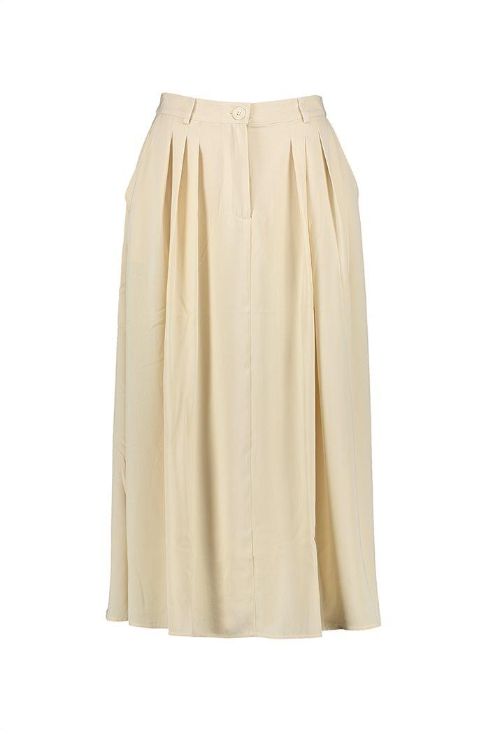 NA-KD γυναικεία midi φούστα μονόχρωμη με πιέτες 3