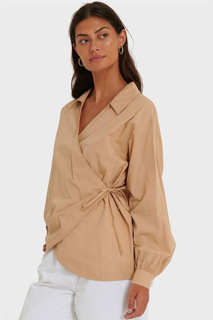 NA-KD γυναικείο πουκάμισο κρουαζέ Oversized Fit 0