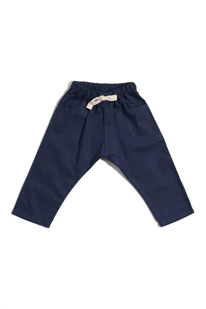 "Tiki tiki παιδικό παντελόνι unisex με λάστιχο ""Axel"" 0"