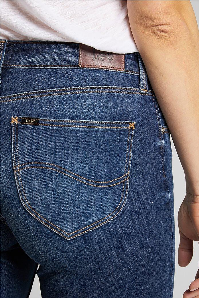 "Lee γυναικείο τζην παντελόνι ""Marion Straight"" Μπλε Σκούρο 4"