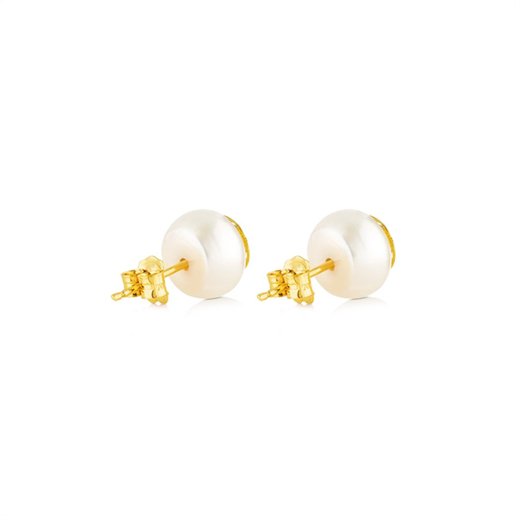 TOUS γυναικεία σκουλαρίκια Rosa d'Abril από χρυσό 2