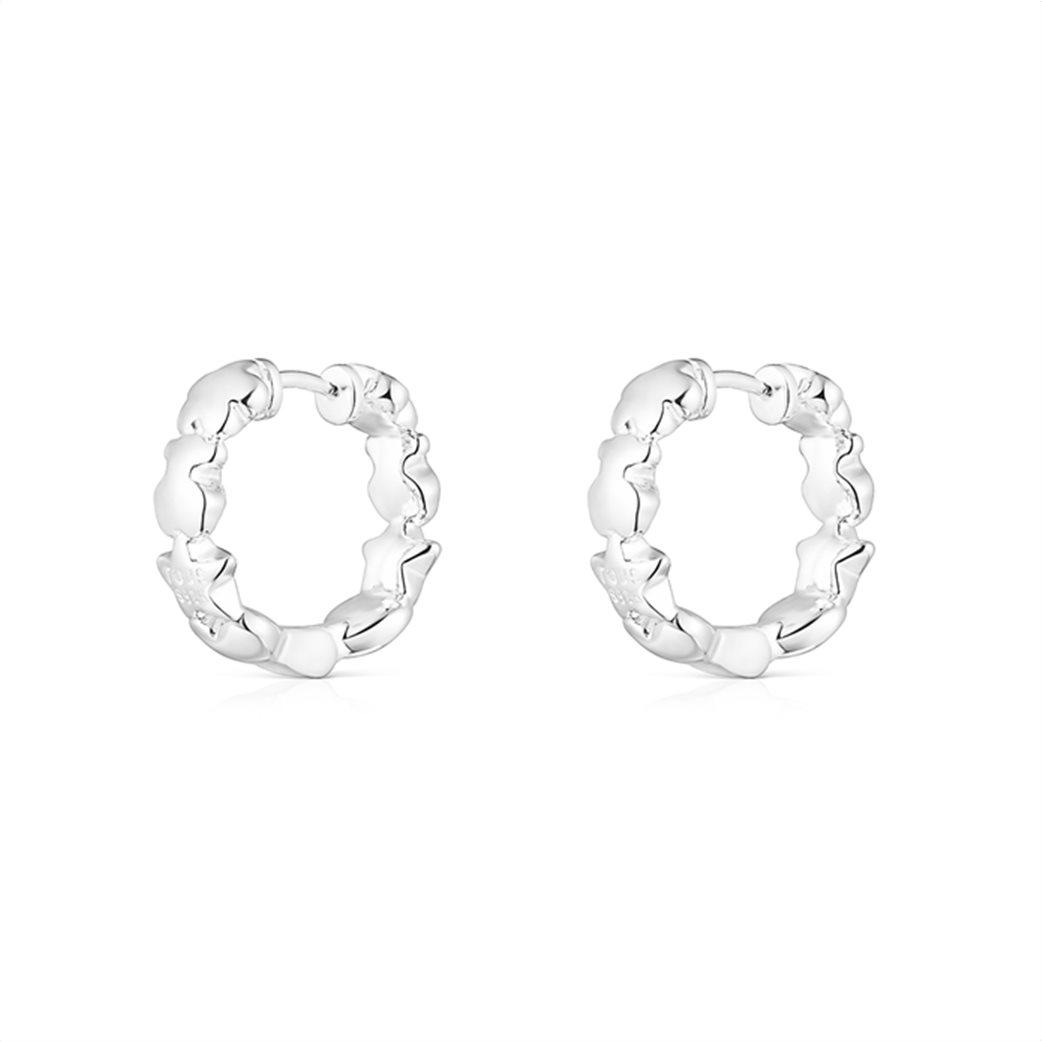 TOUS γυναικεία ασημένια σκουλαρίκια Mini Icons 2