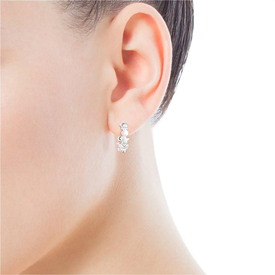 TOUS γυναικεία ασημένια σκουλαρίκια Mini Icons 3