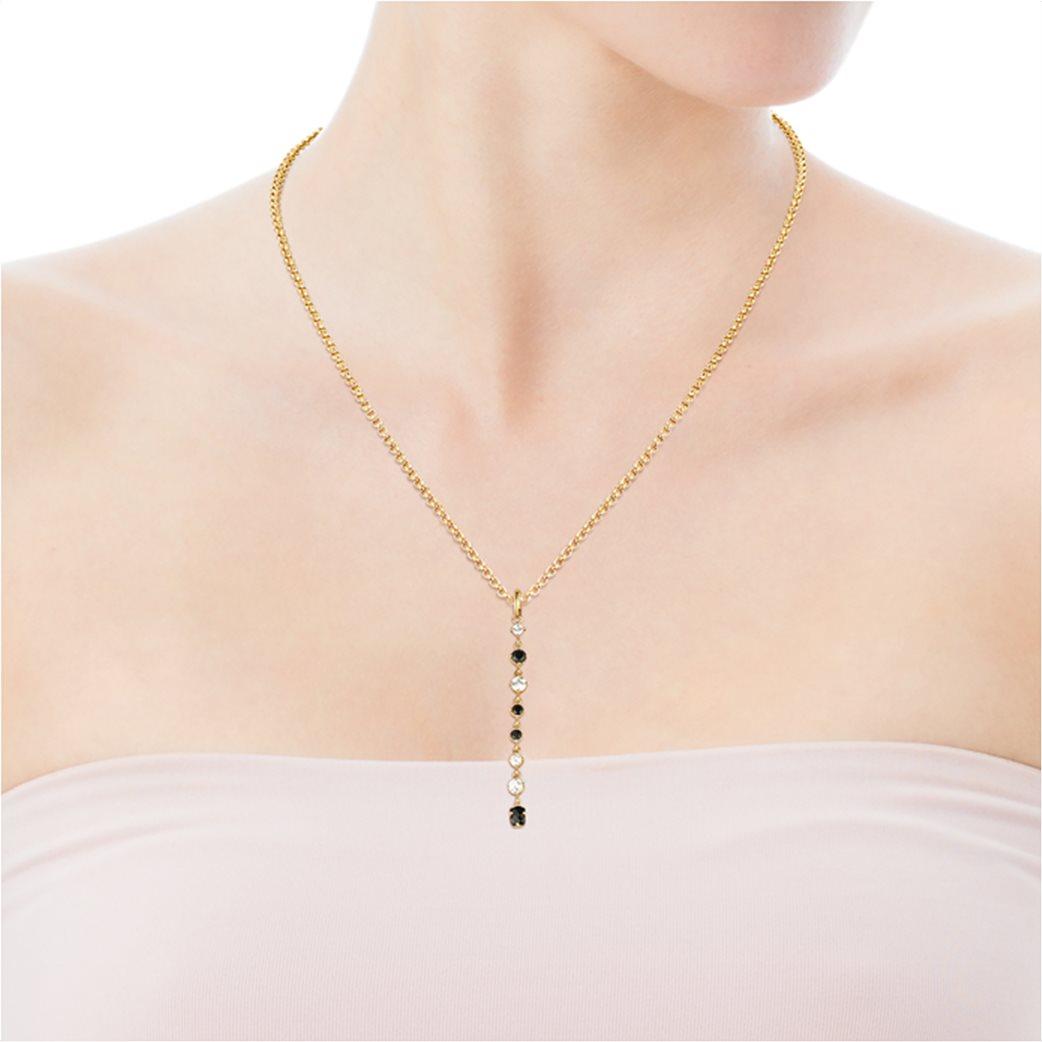 TOUS γυναικείο μακρύ μενταγιόν Glaring από Ασήμι Vermeil με Όνυχα και Ζιργκόν 3