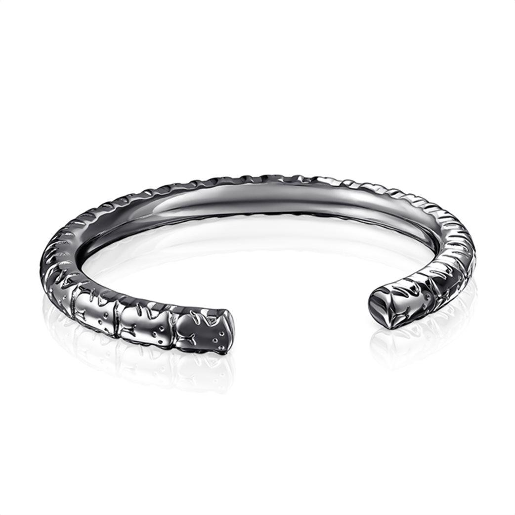 TOUS γυναικείο βραχιόλι Straight XL από ασήμι dark silver 2