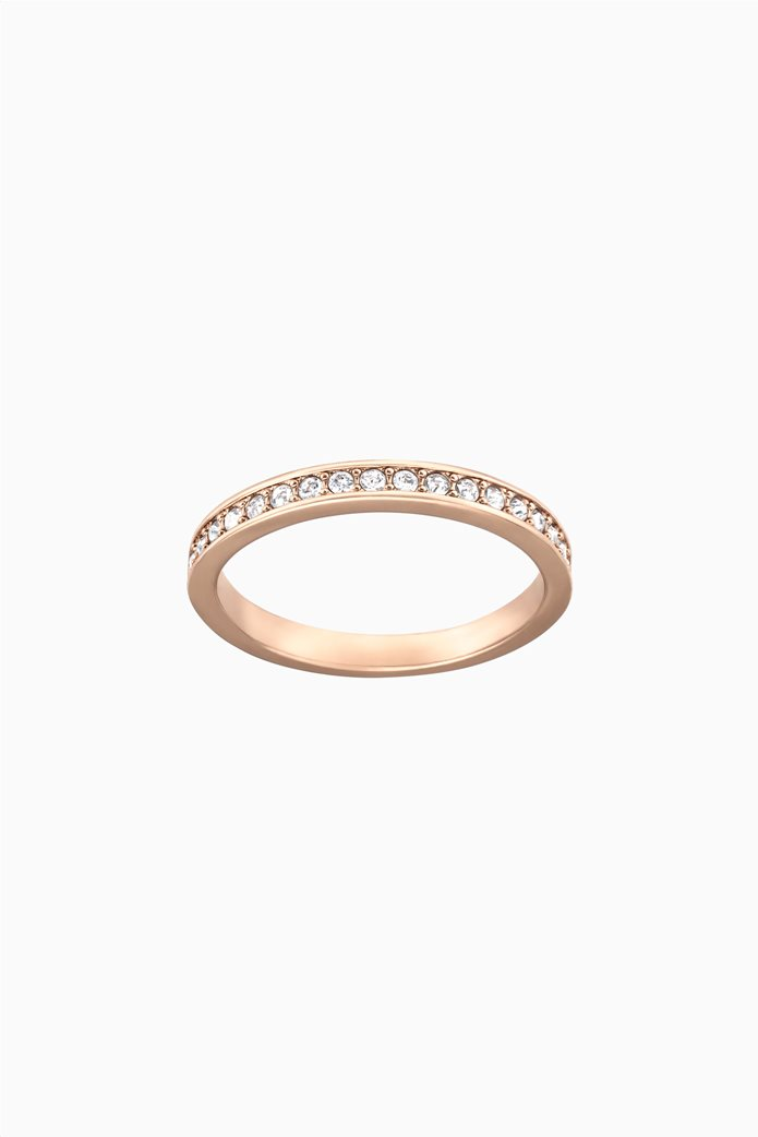 Swarovski Rare Ring, White, Rose-gold tone plated Λευκό 0
