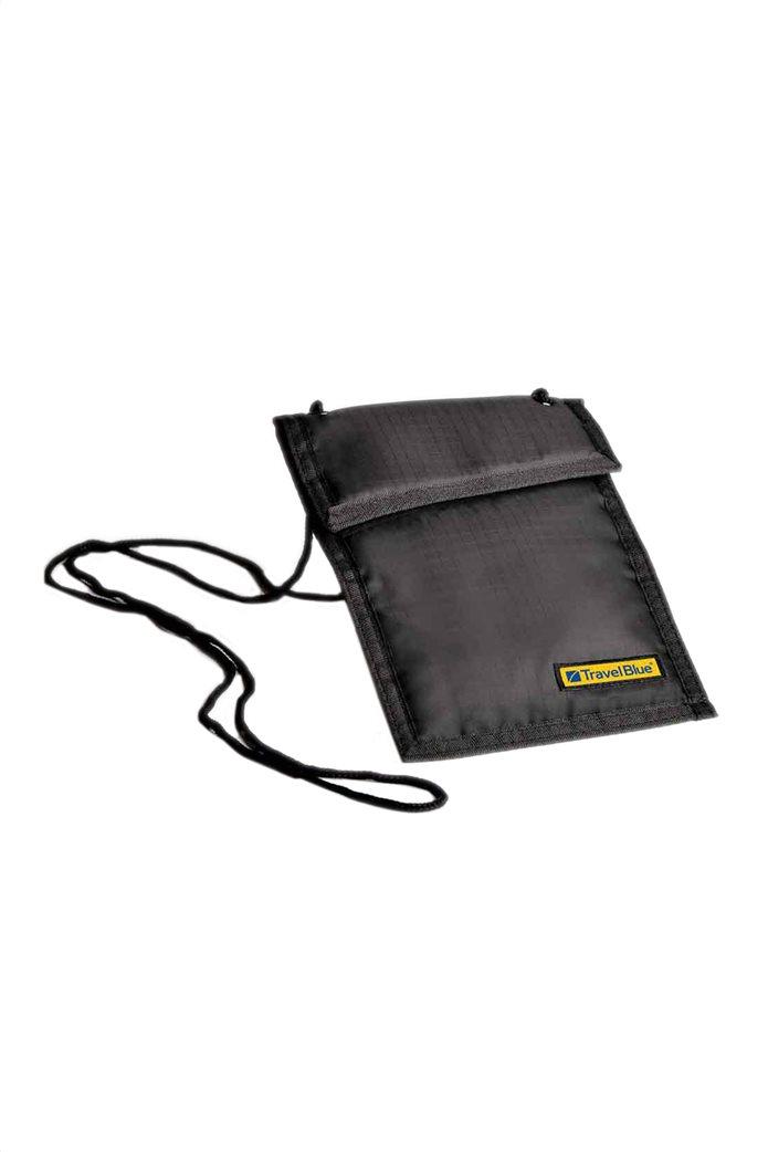 Travel Blue πορτοφόλι λαιμού με θήκες  0