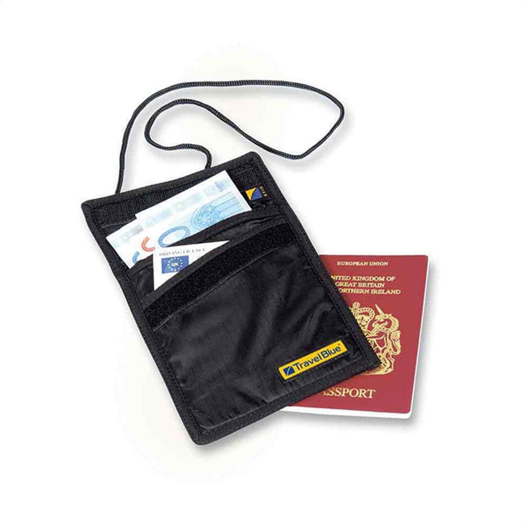 Travel Blue πορτοφόλι λαιμού με θήκες  1