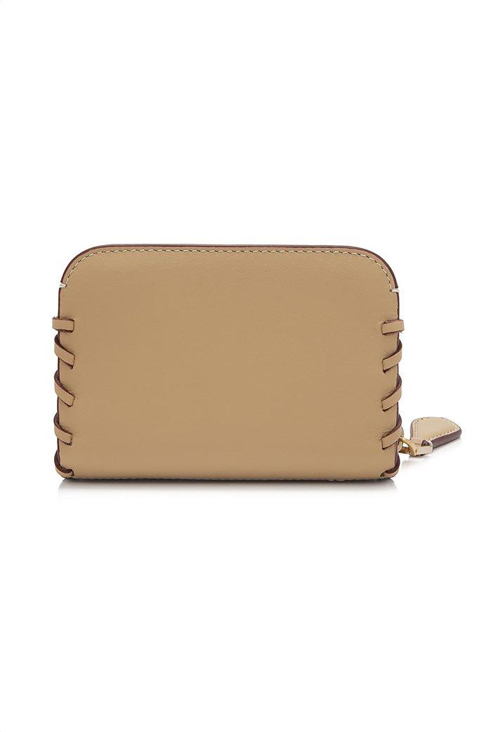 Marc Jacobs γυναικεία δερμάτινη θήκη για κάρτες με μεταλλικό λογότυπο  2