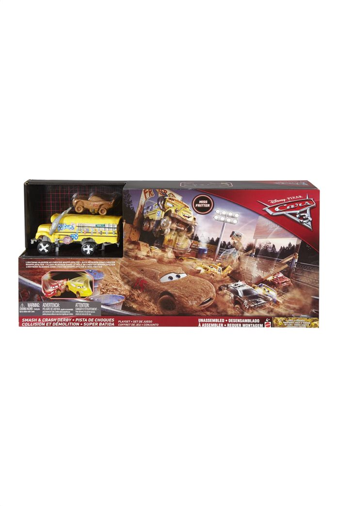 Mattel Cars 3 Crazy 8 Πίστα Σύγκρουσης 0