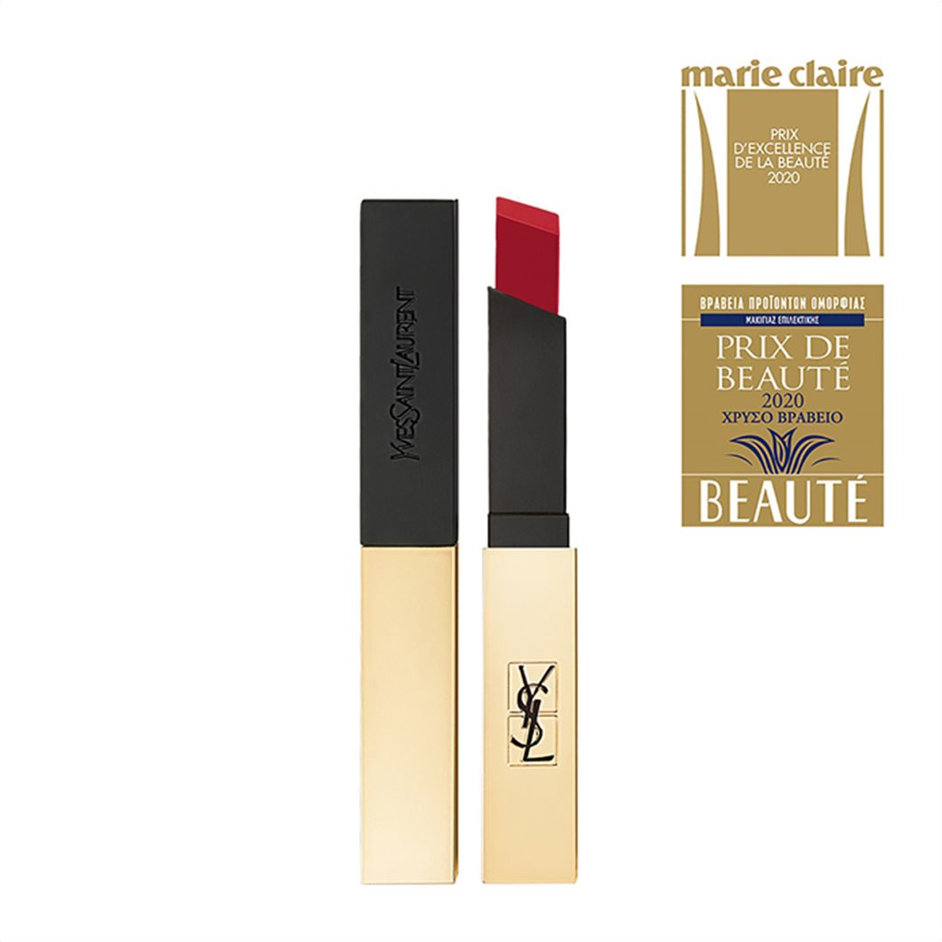 Yves Saint Laurent Rouge Pur Couture The Slim 22 Ironic Burgundy  6