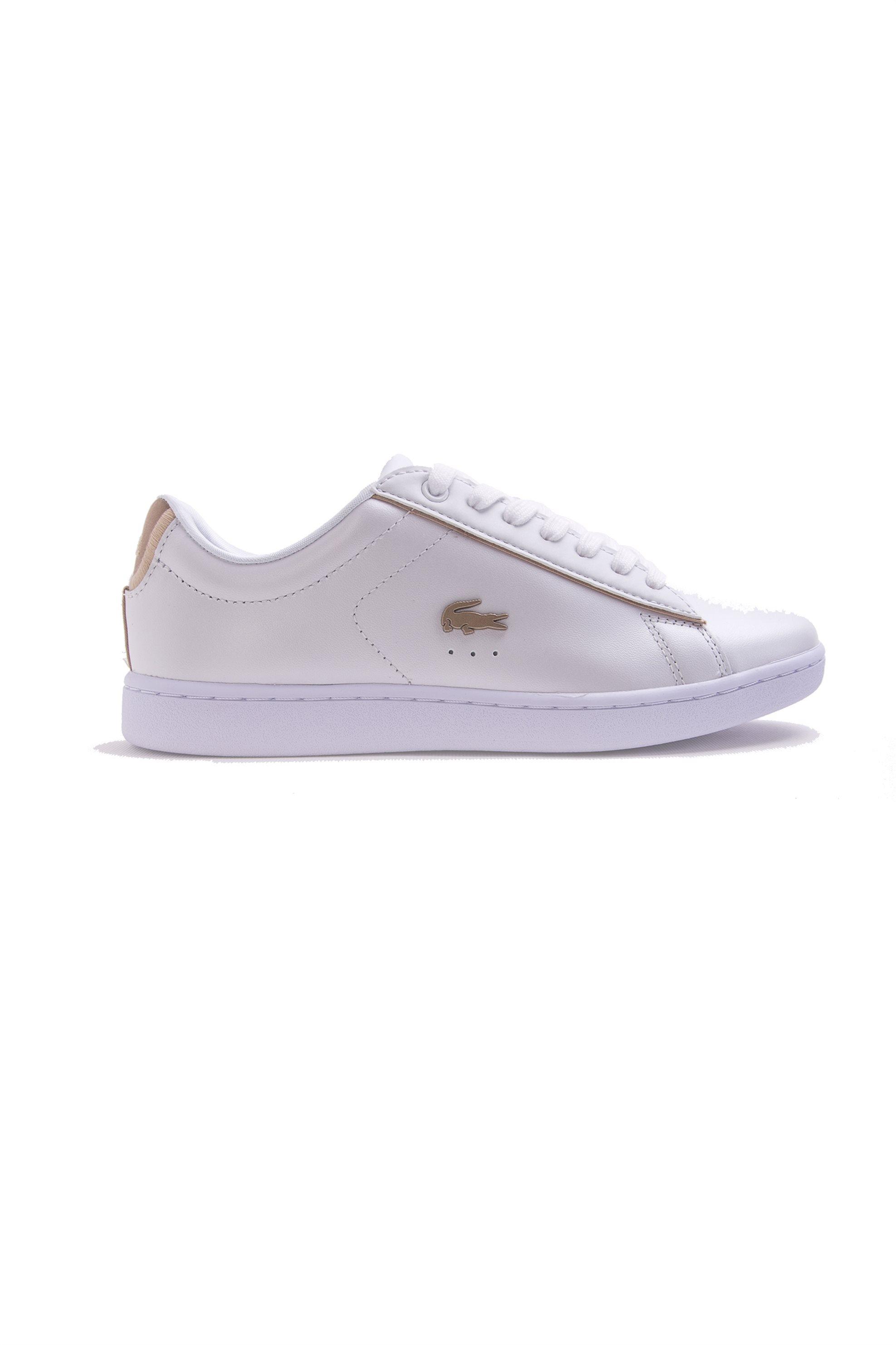 Γυναικεία λευκά sneakers Carnaby Evo Lacoste – 35SPW0013216 – Λευκό