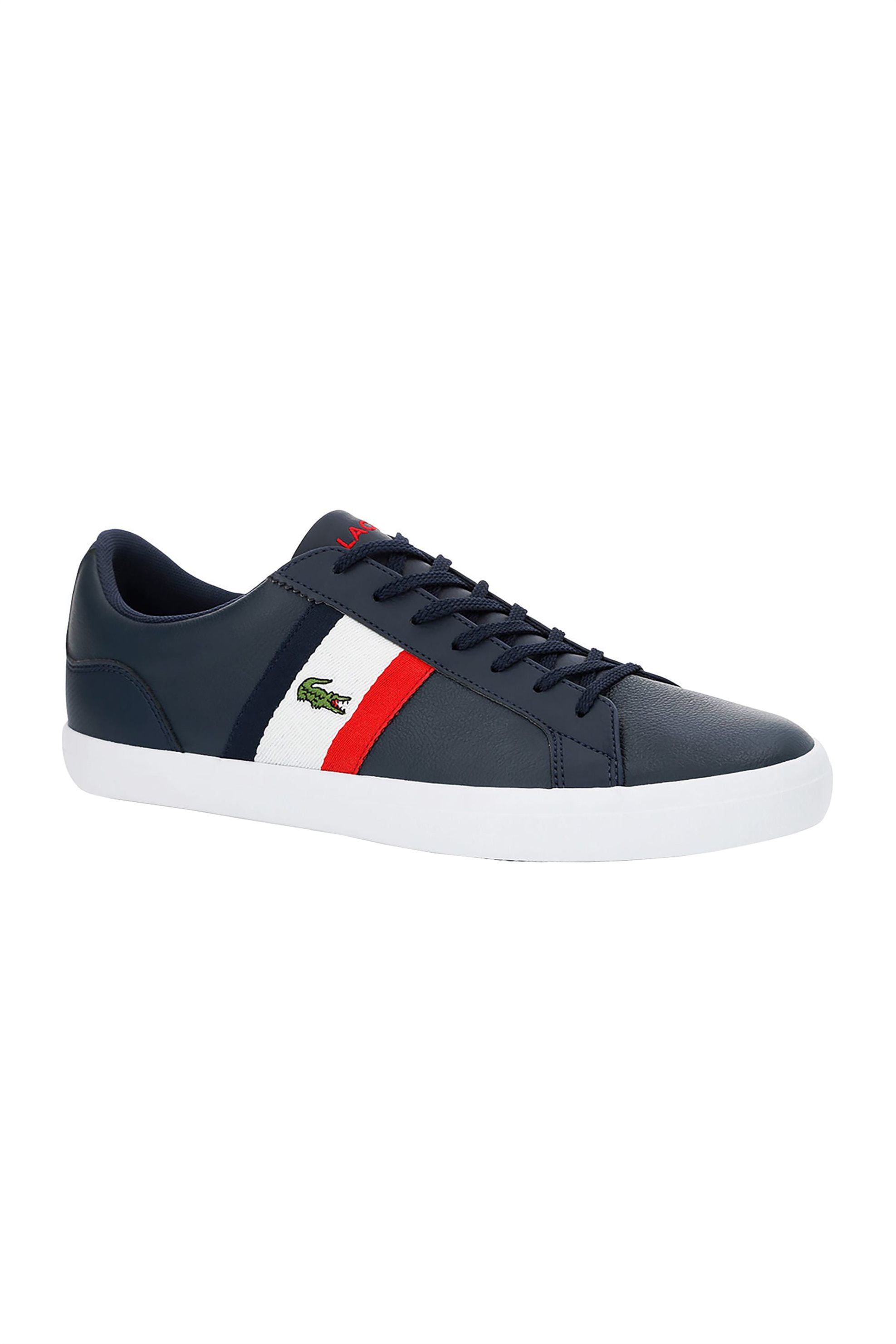 Lacoste ανδρικά sneakers με κορδόνια Lerond – 37CMA00457A2 – Μπλε Σκούρο