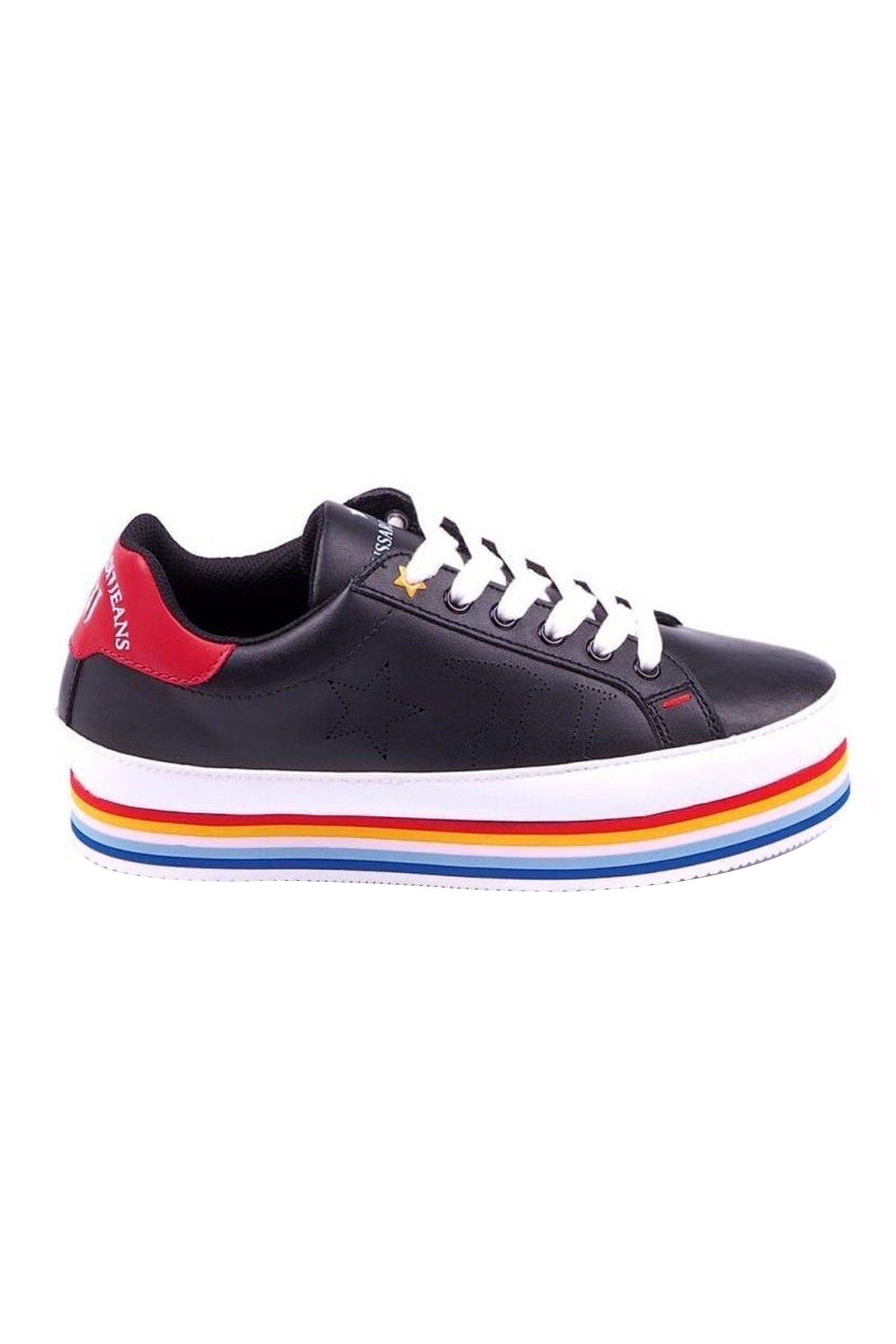 Trussardi γυναικεία chunky sneakers με υπερυψωμένη σόλα – 79A00129-9Y099999 – Μαυρο
