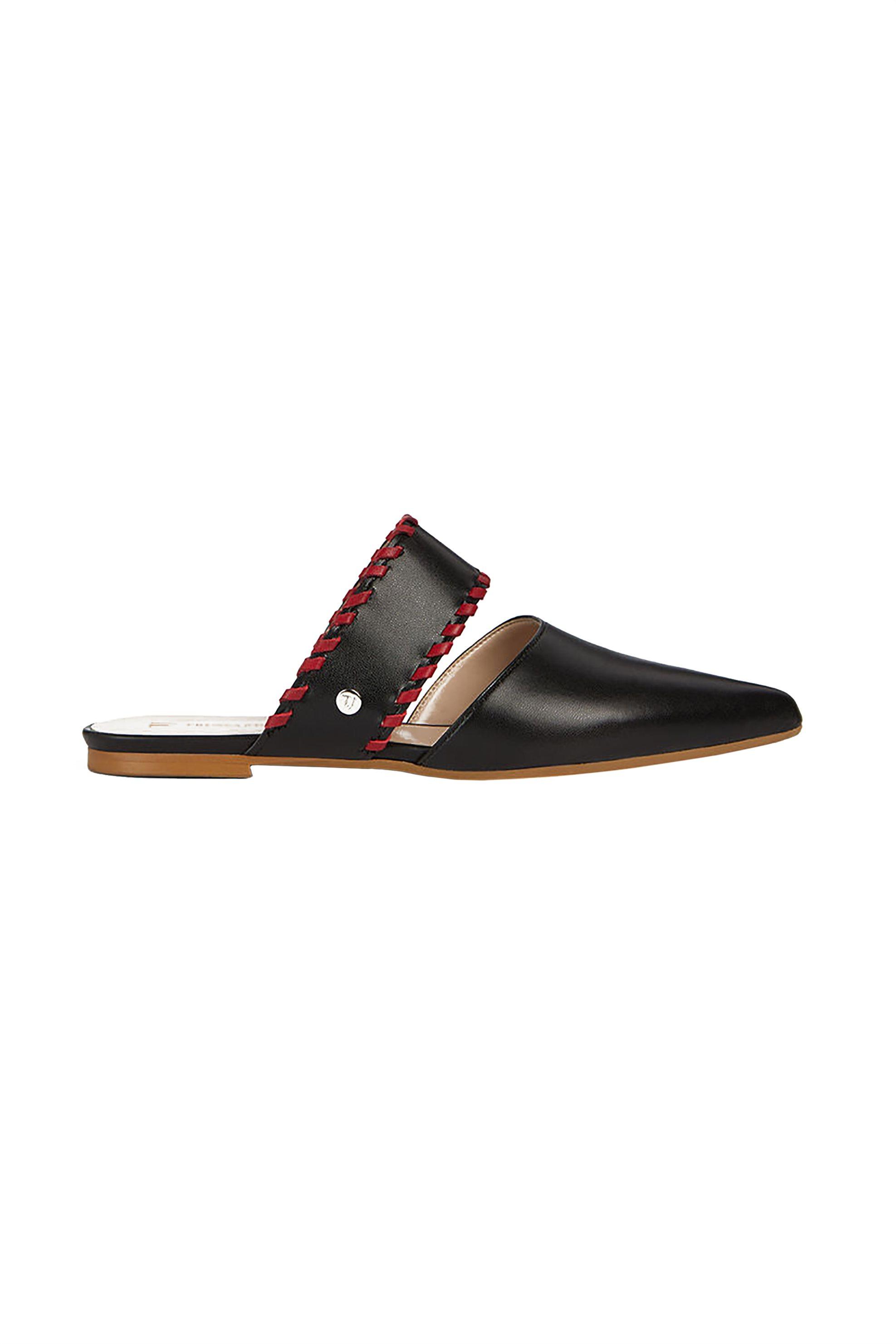 Trussardi Jeans γυναικεία παπούτσια flat mules – 79A00384-9Y099999 – Μαύρο