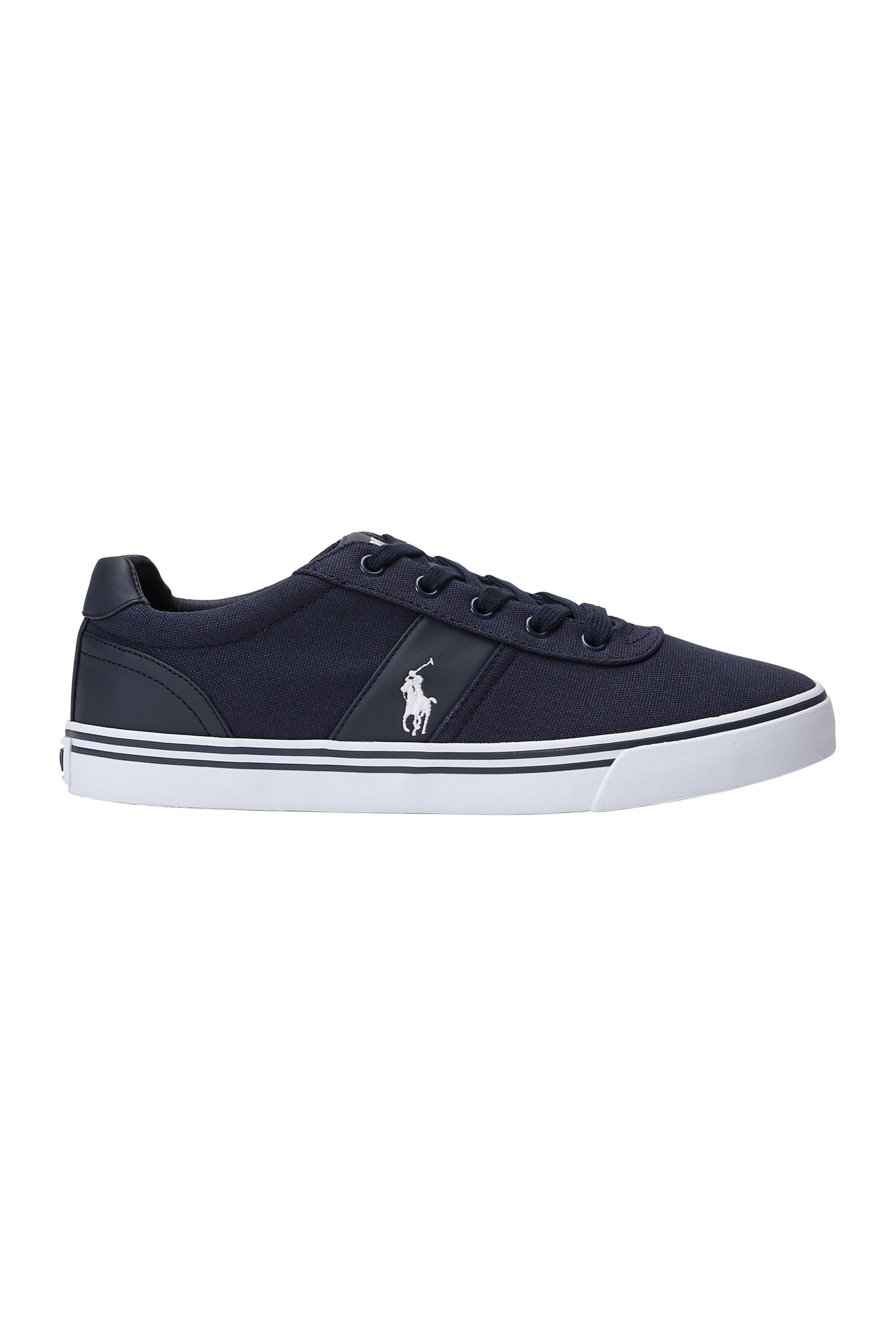 Polo Ralph Lauren ανδρικά sneakers υφασμάτινα Hanford – 816176919899 – Μπλε Σκούρο