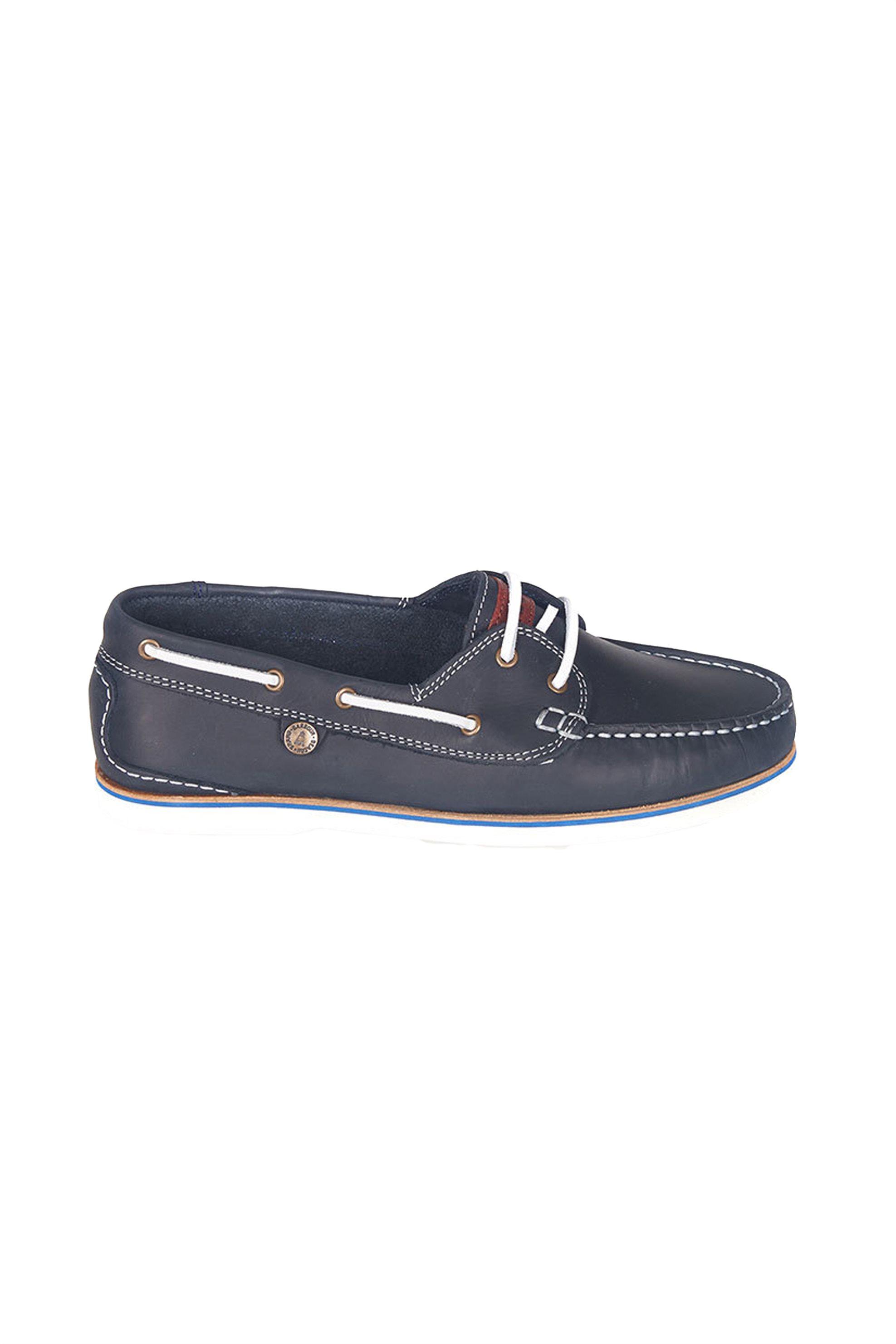 Barbour γυναικεία boat shoes - LFO0175 - Μπλε Σκούρο