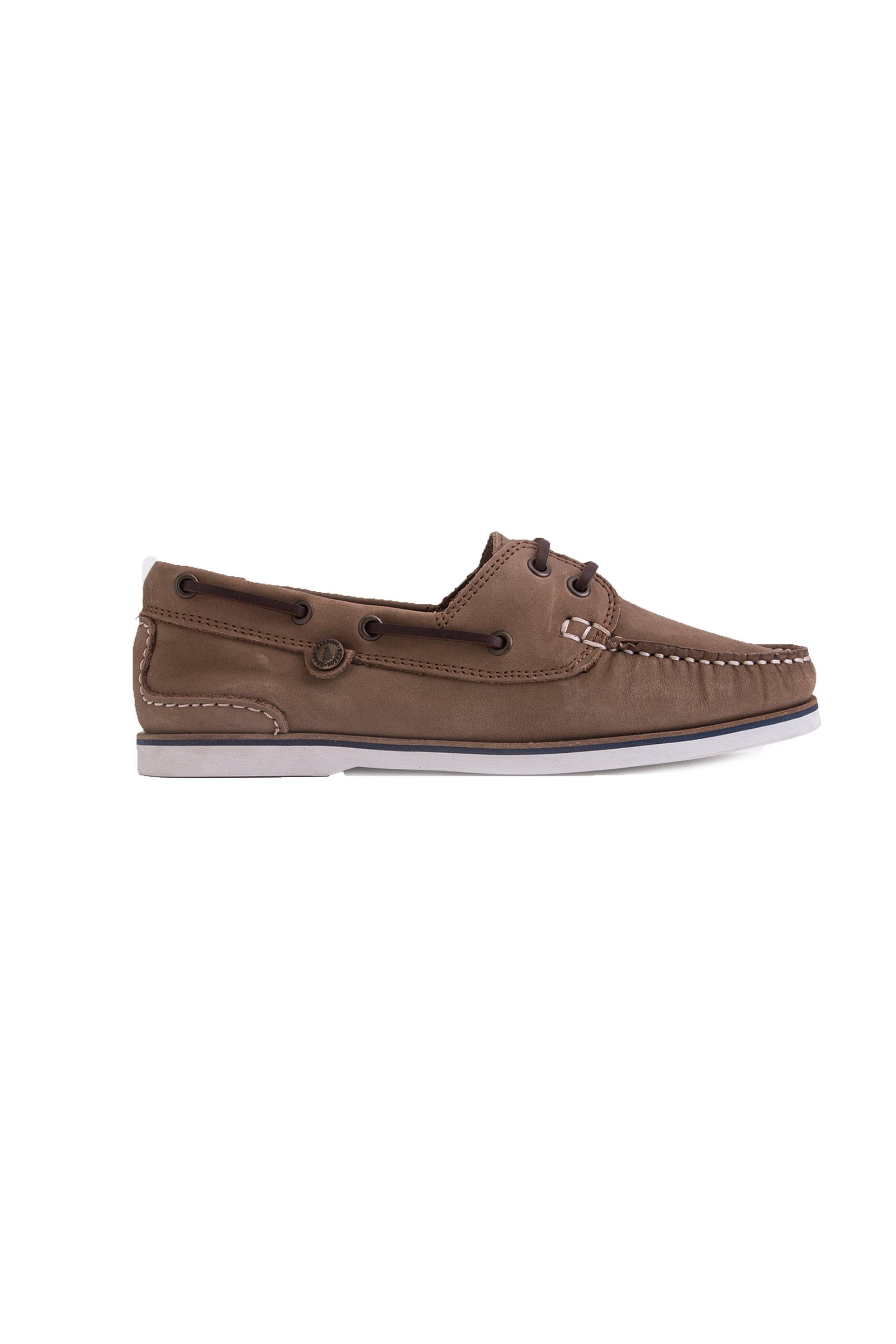 Barbour γυναικεία boat shoes - LFO0175 - Καφέ