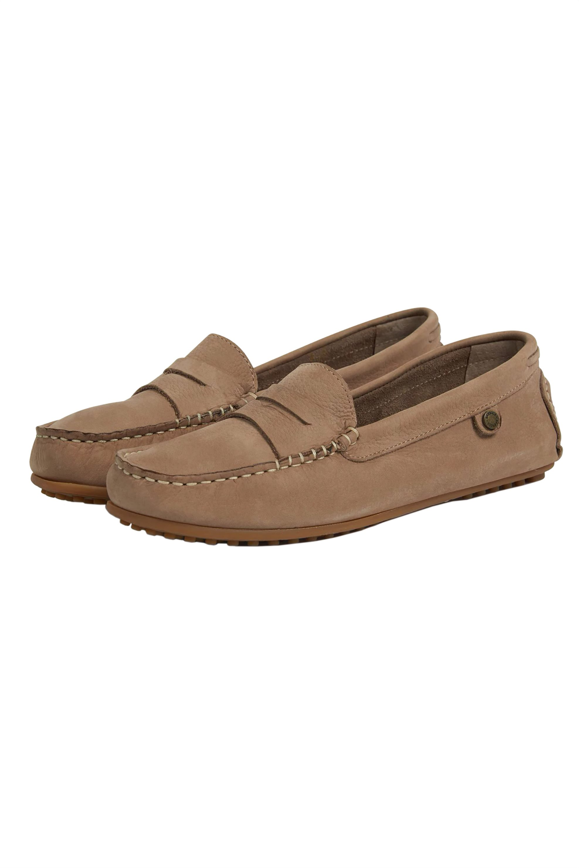 Barbour γυναικεία loafers Danica - LFO0291 - Καφέ