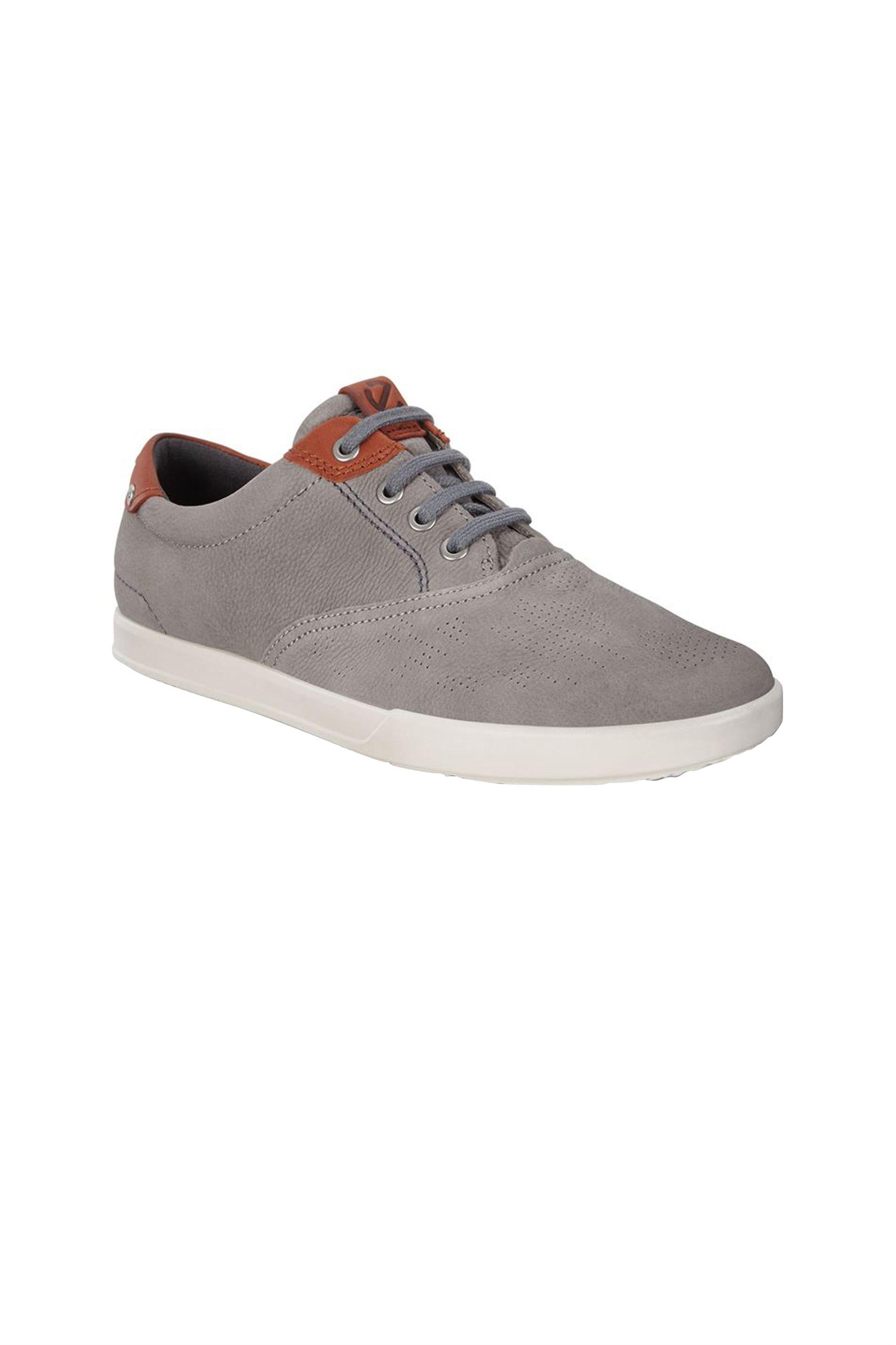 ECCO ανδρικά δερμάτινα sneakers Collin 2.0 suede – 536224 – Γκρι